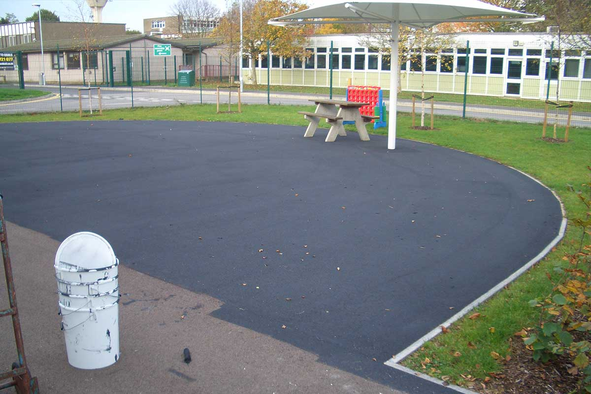 Tarmac Paint Application