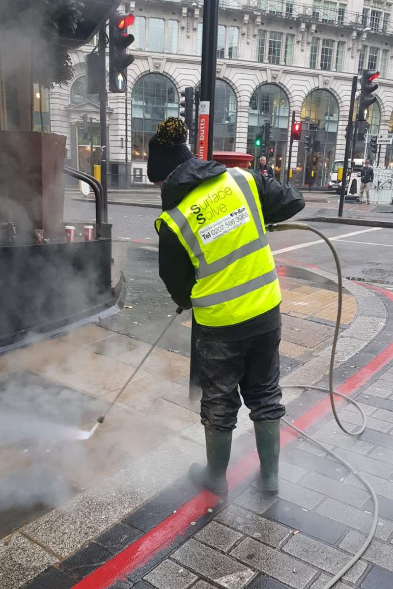 Street Cleaning London