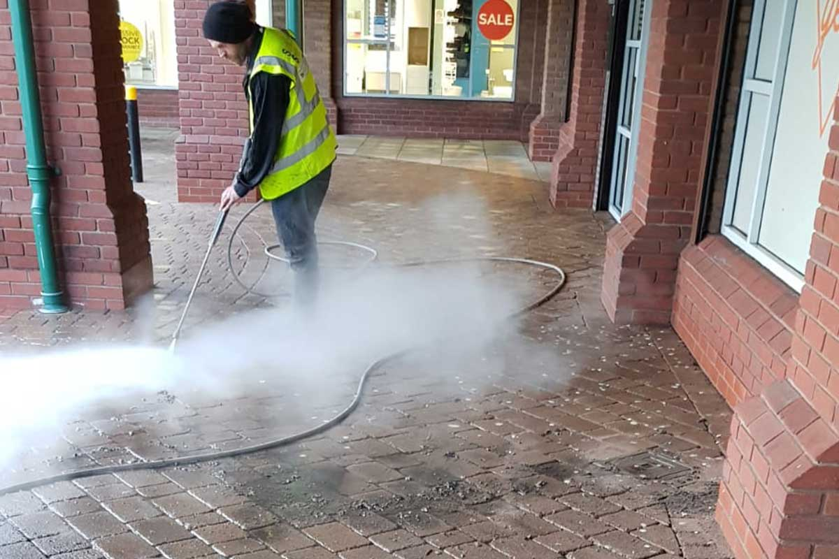 Surface Solve Ltd Street Cleaning Team and Chewing Gum Removal Services
