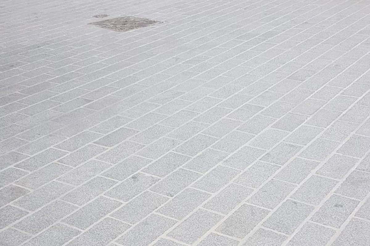 Clean Paving Protected with Pavement Protector
