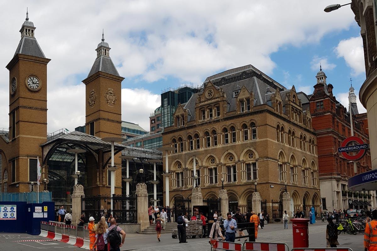 Liverpool Street Crossrail Station